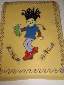 Julius-Club 2009 Abschlussveranstaltung Kuchen