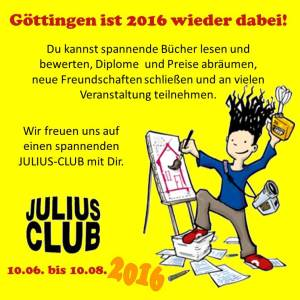 Göttingen ist wieder dabei 15.03.2016