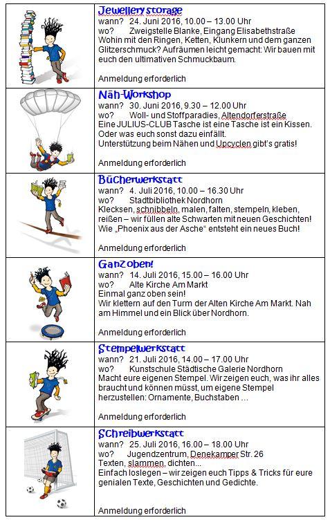 Nordhorn Programm 2016