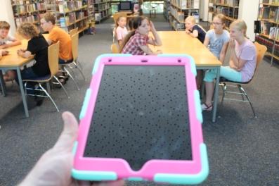 die eingesetzte Technik: iPads